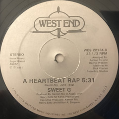 SWEET G:A HEARTBEAT RAP(SIDE-A)
