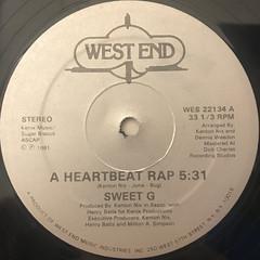 SWEET G:A HEARTBEAT RAP(SIDE-A)