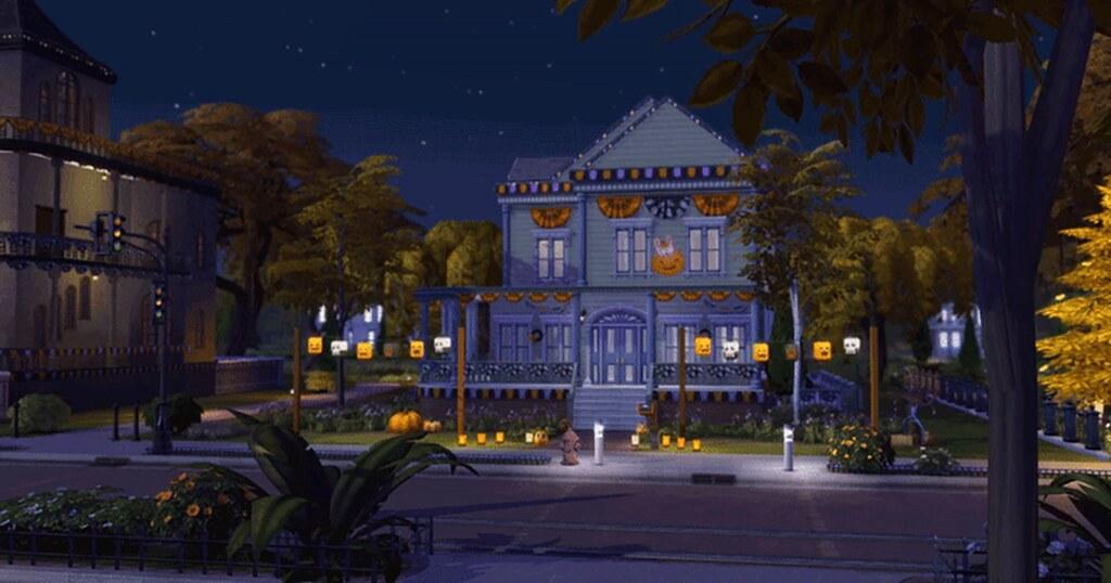 Foto de Novo Gif de Outono do The Sims 4 Estações Disponível