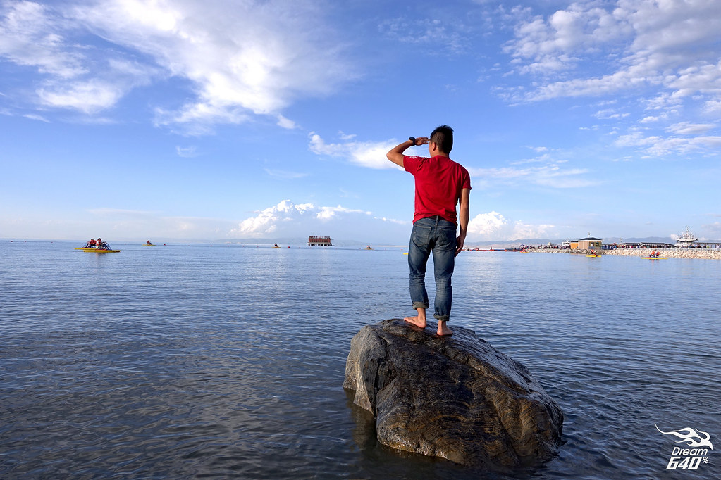 青海湖情迷四季│從盛夏的青色海洋,到凜冬的透藍冰原