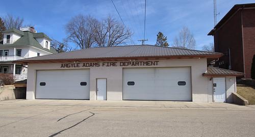 Fire Station - Argyle, WI