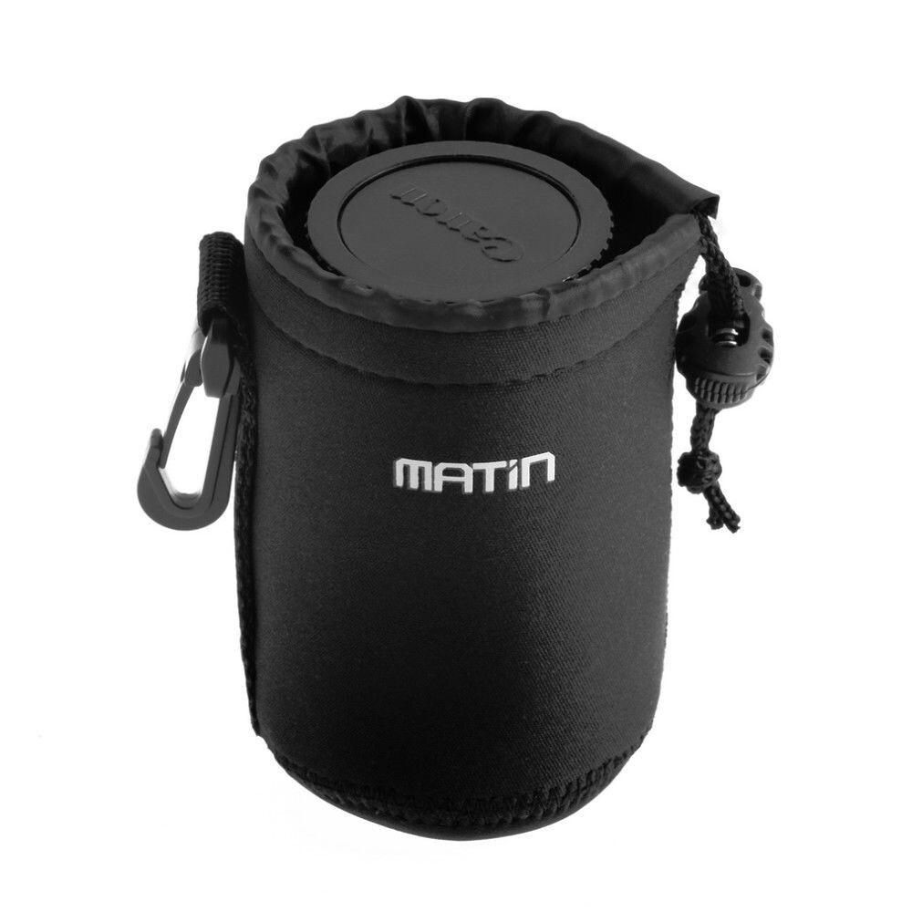 01 Túi chống sốc ống kính Lens máy ảnh Matin size M_Chiều cao tối đa 12cm