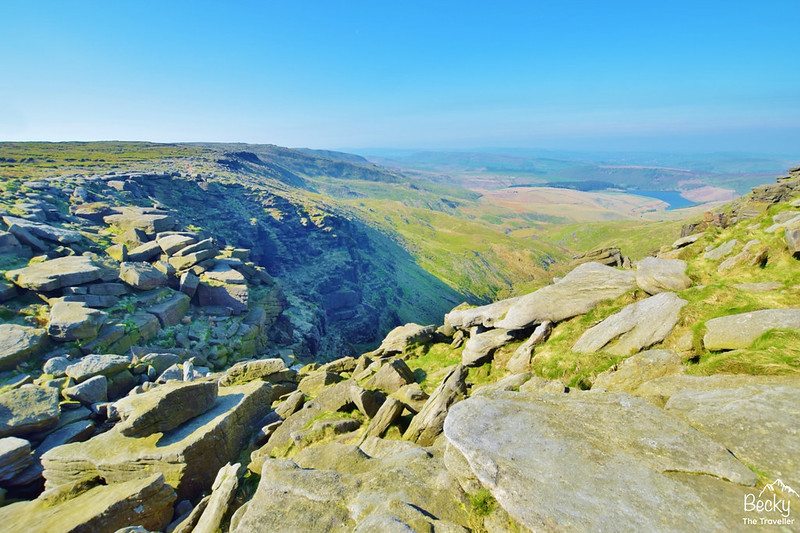 Pennine Way walks Peak District - Edale via Kinder Downfall hike