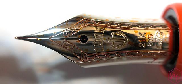 Sailor 1911 Large Royal Tangerine Fountain Pen Review @PenChalet 6