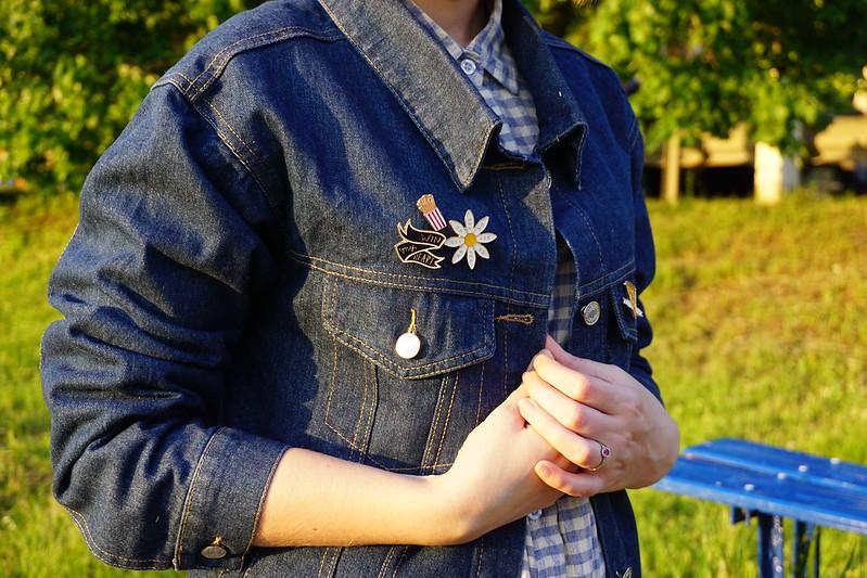 DIY: 3 способа декорировать джинсовку