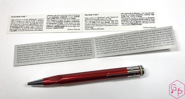 Giuliano Mazzuoli Cassia Ballpoint Pen:Pencil Review @CarolLuxury @GMazzuoli 5