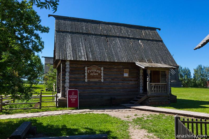 Дом из села Каменево Камешковского района, Музей деревянного зодчества, Суздаль