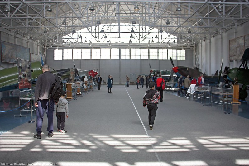 Центральный музей ВВС. Ангар №6А.