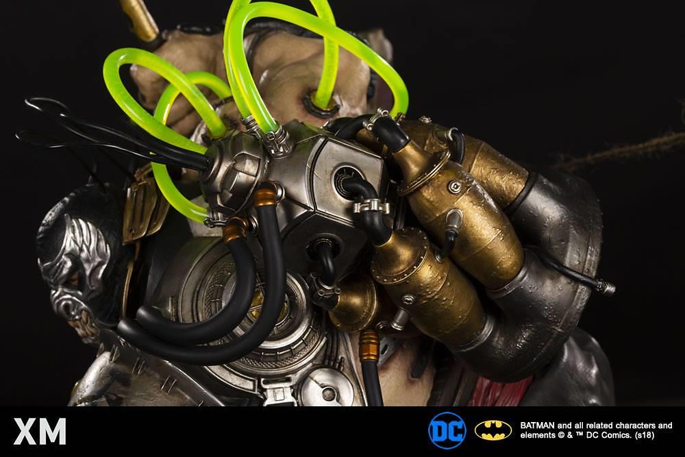 有如窒息一般的沈重魄力!! XM Studios Premium Collectibles 系列 DC Comics【班恩】Bane 1/4 比例全身雕像作品