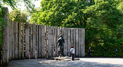 STATUE  OF THEOBALD WOLFE TONE BY NOEL KEATING AND EDDIE DELANEY [LOCALLY KNOWN AS TONEHENGE]-140482