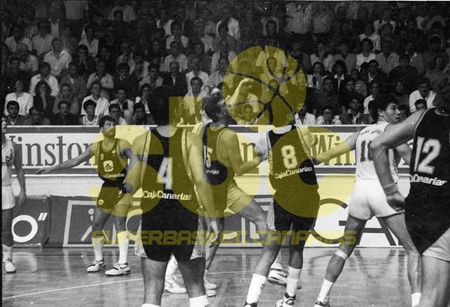 Un equipo de Archivo: Cajacanarias-Real Madrid (Temporada 1988-89. Debut de Petrovic)