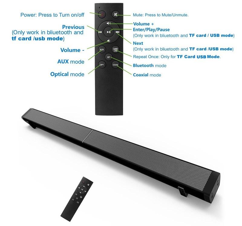 LP-09 Sound Bar Subwoof BT Speaker (18)