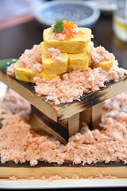 23番地 ・ 名物 ◆~本ズワイ蟹のぶっかけ出汁巻き玉子~