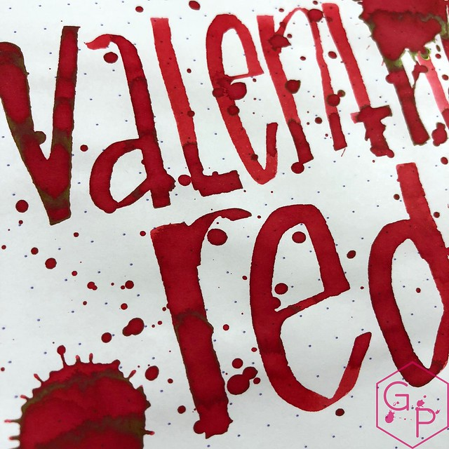 Monteverde Valentine's Red Ink Review @MonteverdePens 12