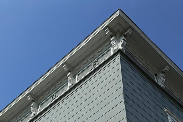 Cornice, IOOF Building — Powell, Ohio