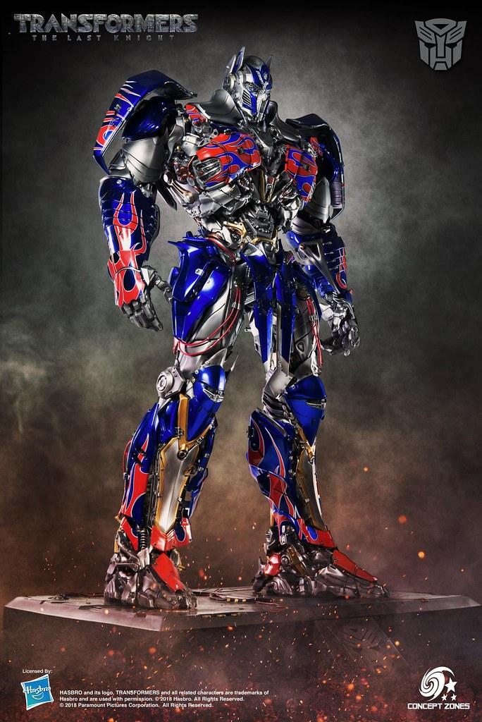 極致霸氣的展現,本世紀最大的柯博文雕像?!M3 STUDIO × CONCEPT ZONES《變形金剛5:最終騎士》柯博文 Optimus Prime 全身雕像作品