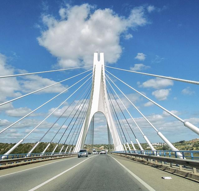A well known bridge near Lagos Portugal