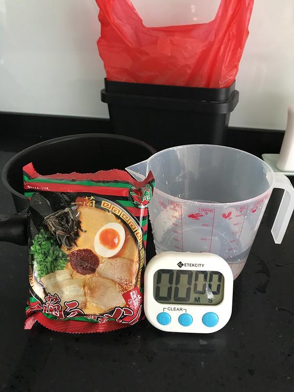 Ichiran Instant Noodle - Preparing To Cook