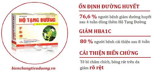 Kết quả nghiên cứu Hộ Tạng Đường tại Trung tâm oxy cao áp TP. Hồ Chí Minh