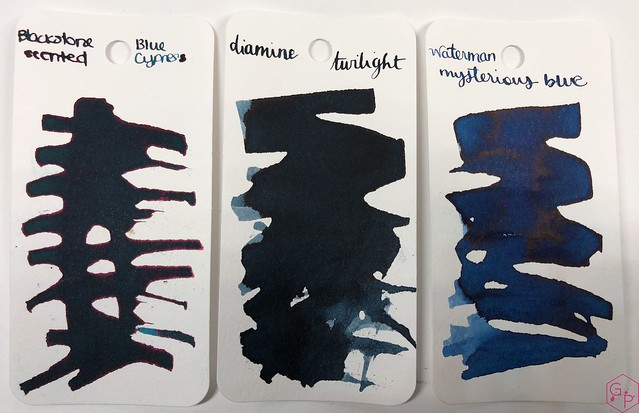 Blackstone Blue Cypress Ink Review @AppelboomLaren 1
