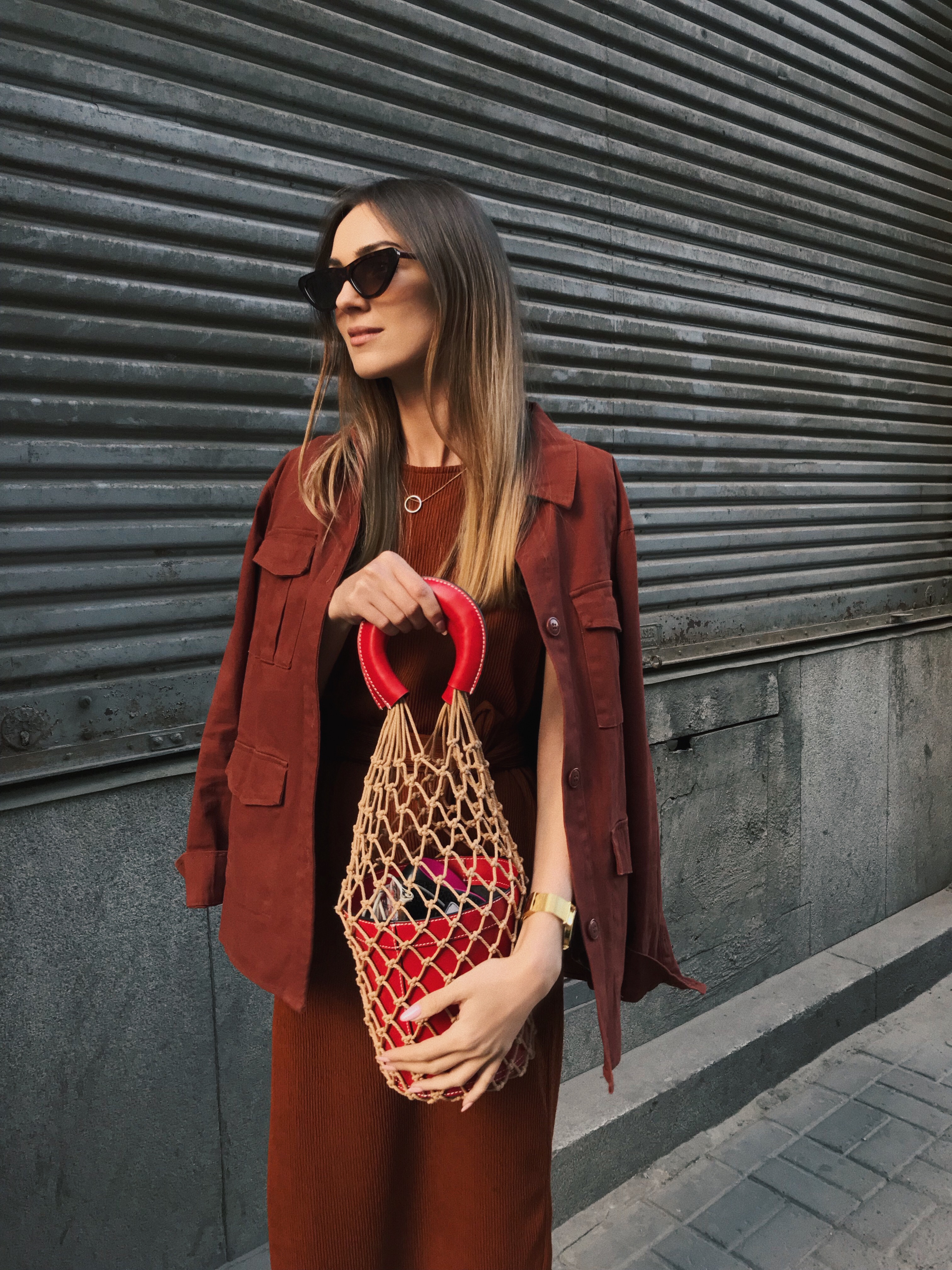 staud-mesh-bag-outfit-street-style