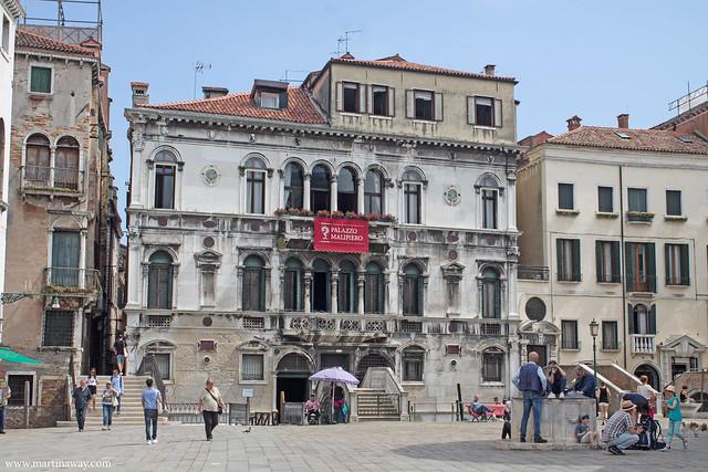 Palazzo Malipiero in campo di Santa Maria Formosa