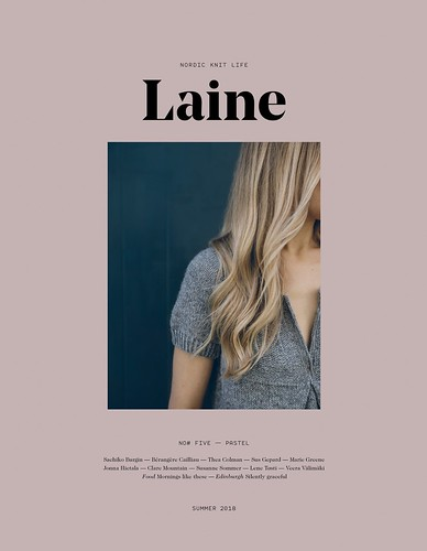 Laine Magazine Issue 5 has arrived!