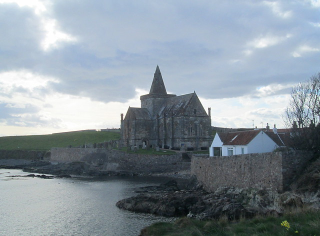 St Monans Kirk From Village
