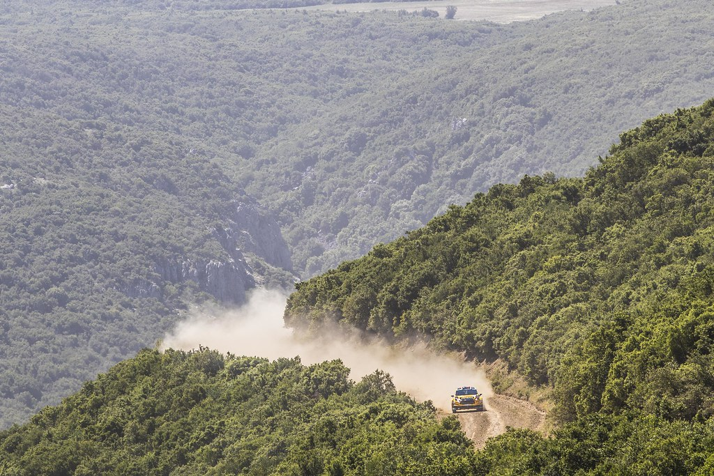 06 BRYNILDSEN  Eyvind (nor),  ENGAN Veronica (nor), Ford Fiesta R5, action during the European Rally Championship 2018 - Acropolis Rally Of Grece, June 1 to 3 at Lamia - Photo Gregory Lenormand / DPPI