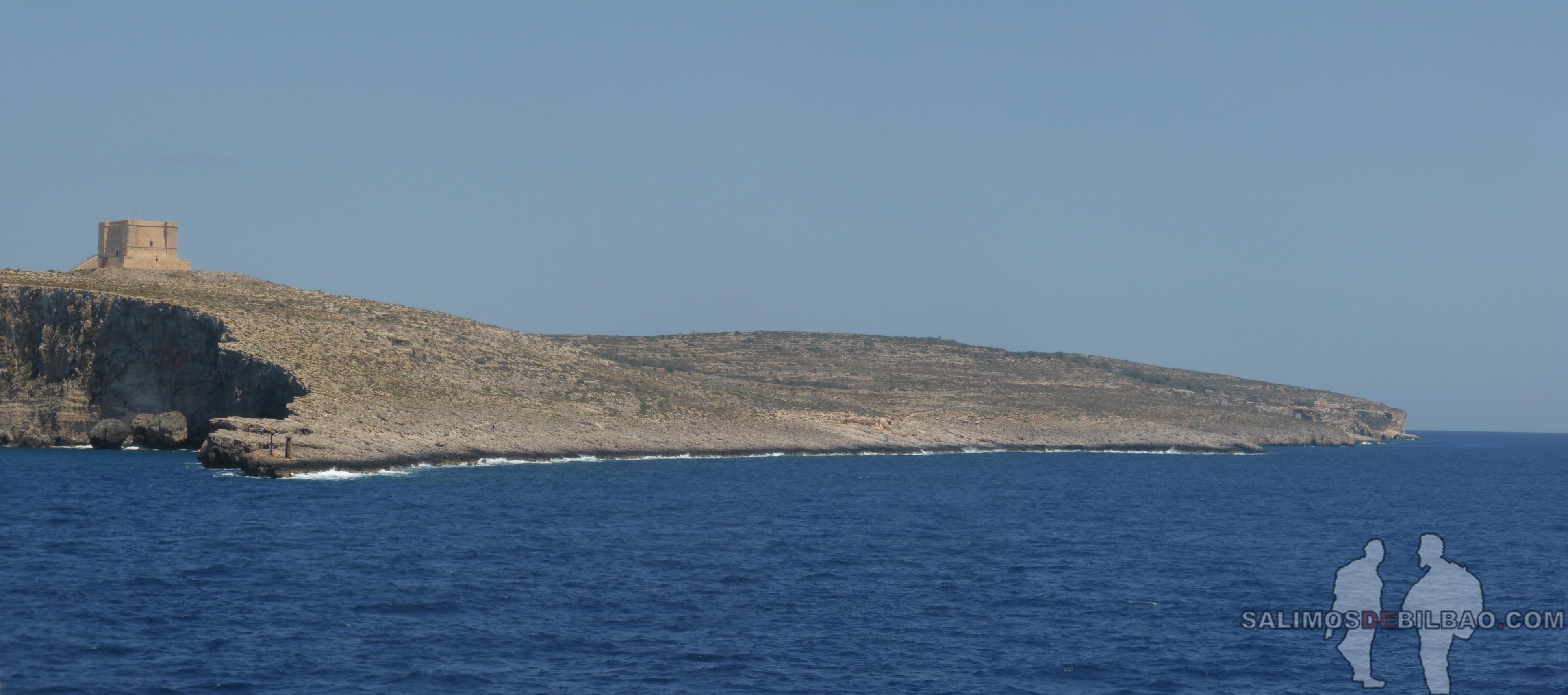0619. Pano, Isla de Comino, Ferry de Gozo a Malta