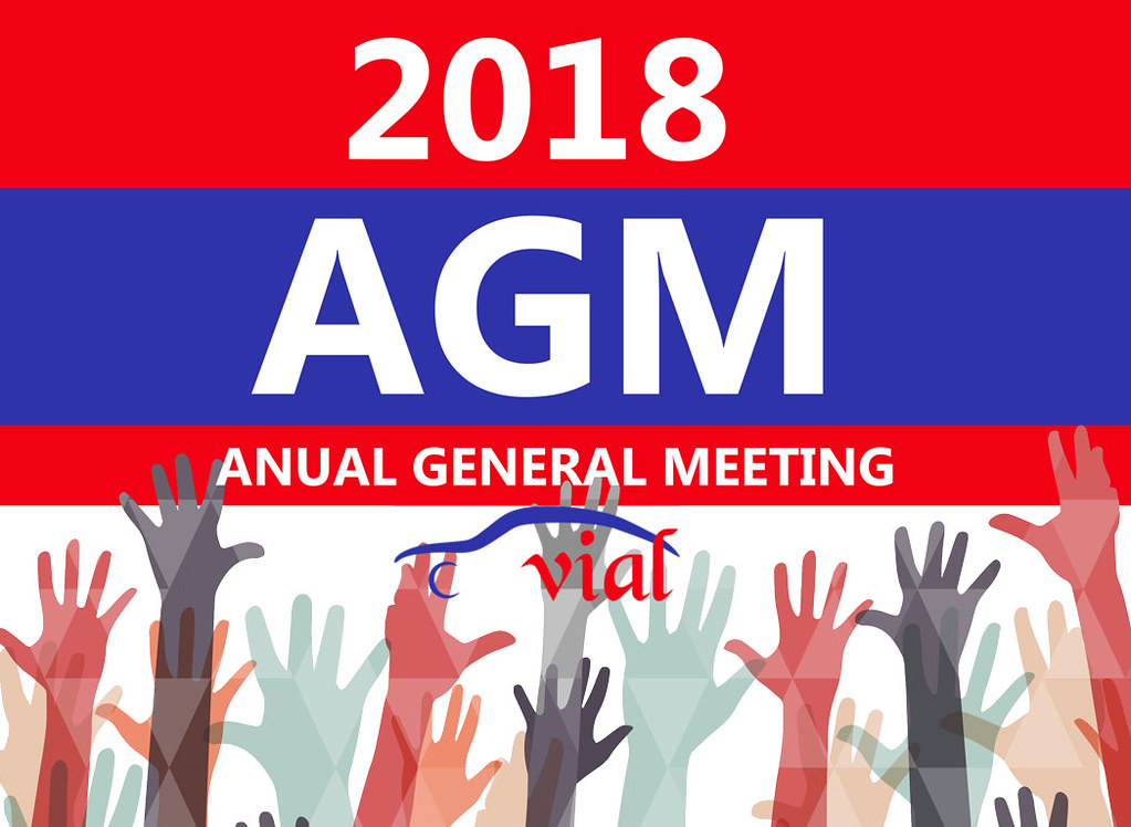 VIAL ANNUAL GENERAL MEETING 2018 & GET TOGETHER