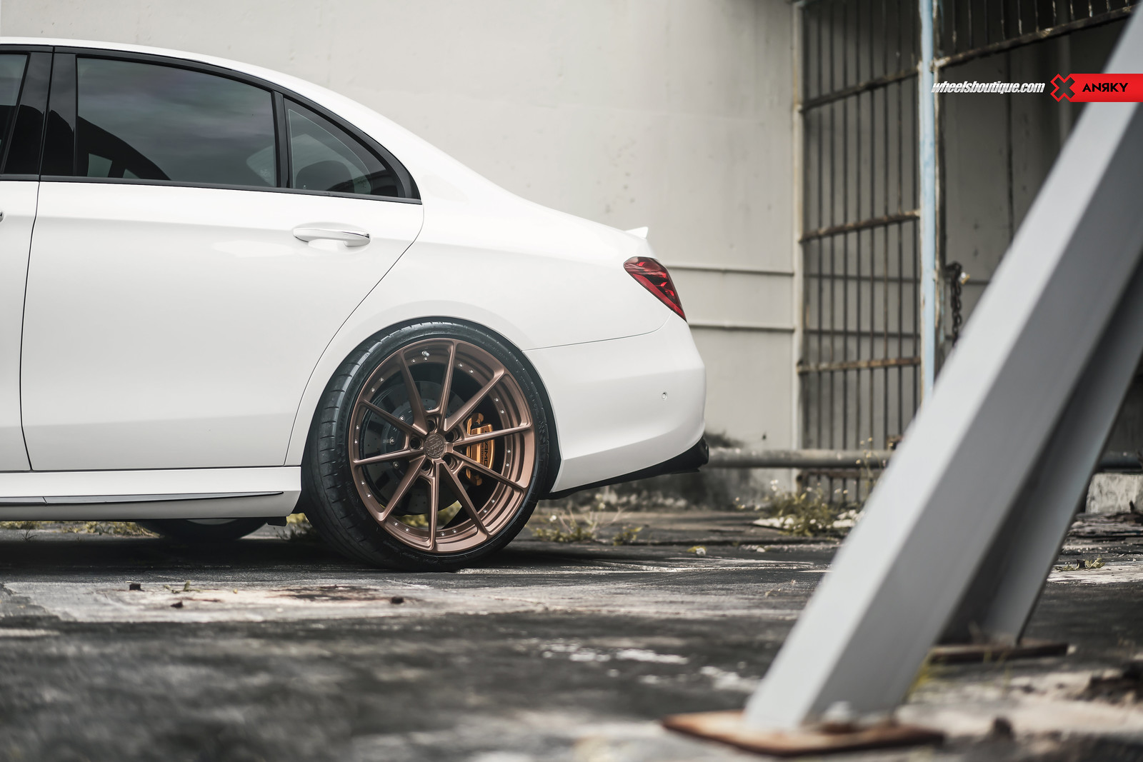 The German Super Sedan - Mercedes W213 E63 AMG on ANRKY AN28 by