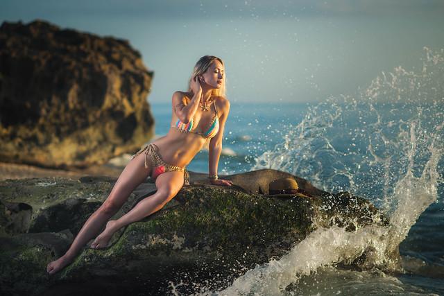 Kristina on the Rocks