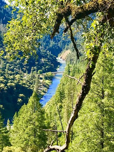 parksidepeak hike stevenstrail nationaltrailsday northfork americanriver bridge