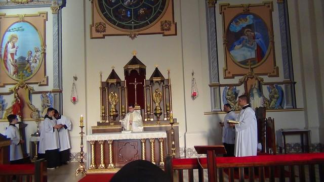 Corpus Christi no Mosteiro em Jacarezinho/PR