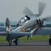 Enjoying the Sun - Hawker Sea Fury