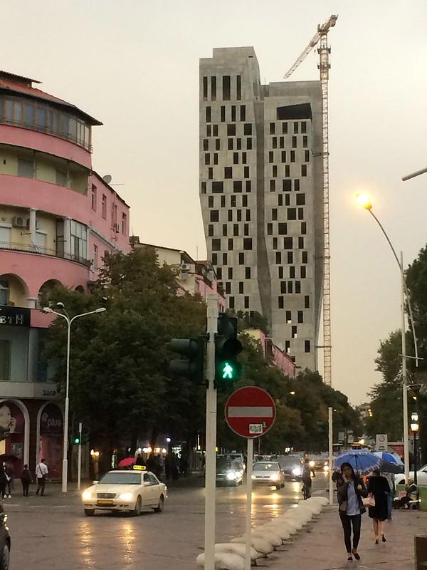 Tirana Tower Block