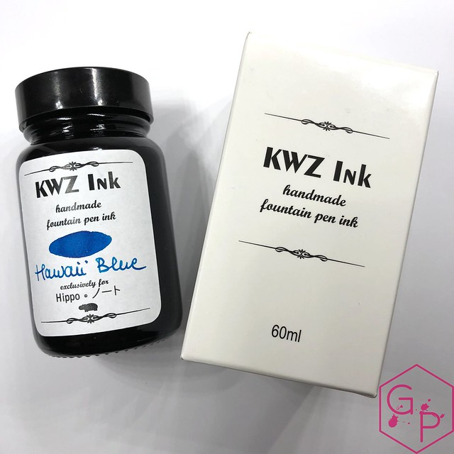 KWZ Ink Hawaii Blue Ink Review 21