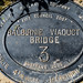 Balbirnie viaduct bridge plaque