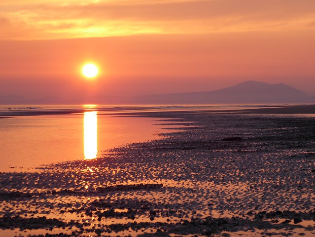 Sunset in Barmouth