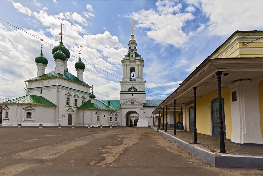 Москва - Казань по воде. День 3 - Кострома, Плёс
