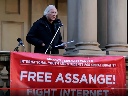 John Pilger: The Persecution of Julian Assange Must End + Transcript