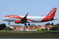 G-EZPE Airbus A320-214SL on 08 May 2018 Jersey