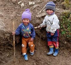 kids - Singalila NP - Eastern Himalayas Altitude ~3200m