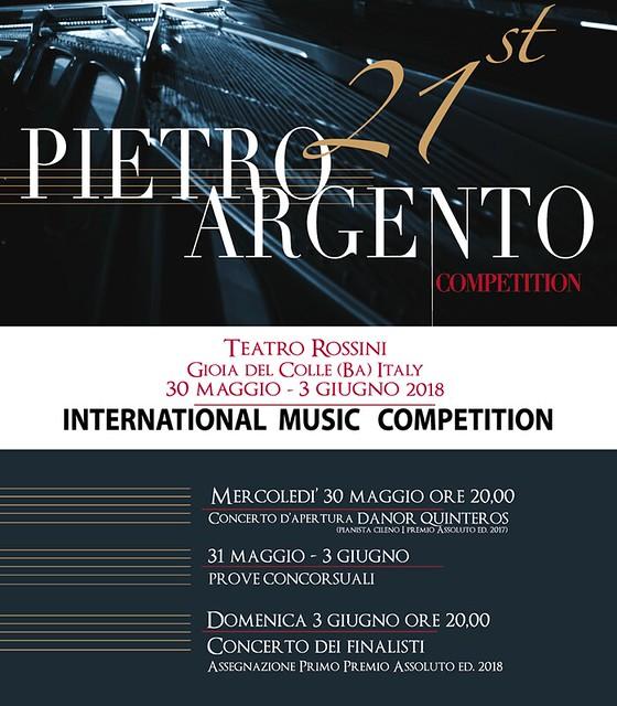 concorso argento XXI edizione