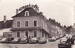 Postcard Arnay-le-Duc (21 Côte-d'Or) Restaurant Chez Camille Ed. Combier Mâcon a