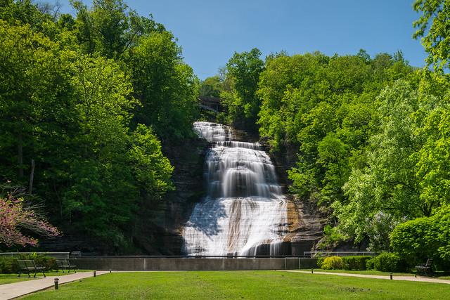 Shequaga Falls in Spring, Nikon D850, PC-E Nikkor 24mm f/3.5D ED