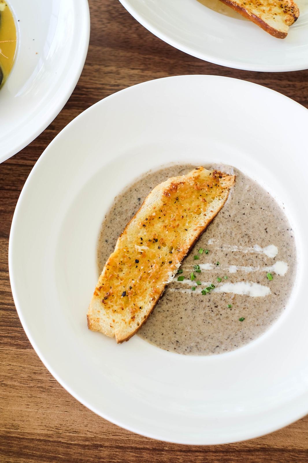 Seagrill蘑菇汤