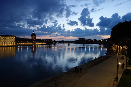 Garonne River - Toulouse, France