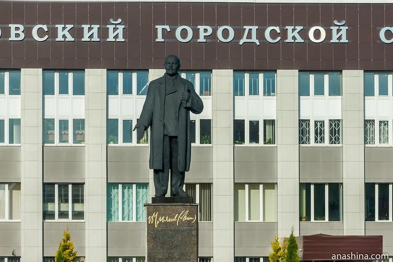 Памятник Ленину в Александрове